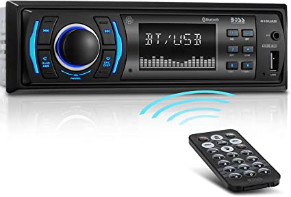 expédition gratuite gamme de couleurs exceptionnelle gamme exceptionnelle de styles BOSS Audio Systems 616UAB Multimedia Car Stereo - Single Din LCD, Bluetooth  Audio and Hands-Free Calling, Built-in Microphone, MP3/USB, Aux-in, AM/FM  ...