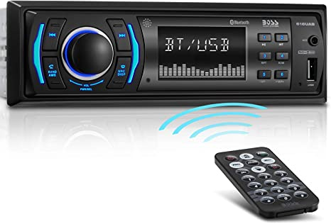 Estereo Para Carro Radio Auto BOSS Estereos Bluetooth De Carros USB MP3 AM//FM