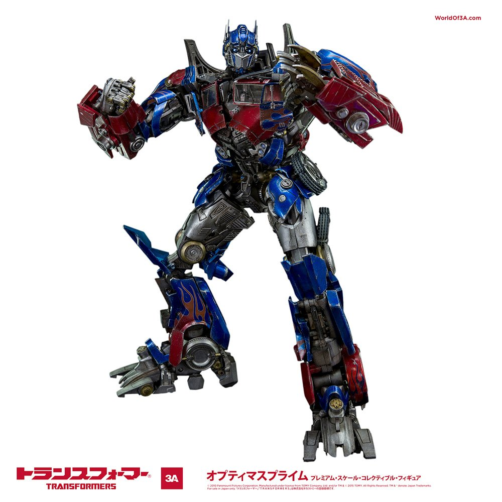 Review 3a threea transformers optimus prime dark of the moon dotm - Amazon Com Transformers Dark Of The Moon Optimus Prime Non Scale Abs Pvc Pom Painted Action Figure By Threea Toys Games
