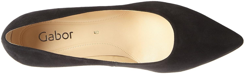 Gabor Damen Fashion Schwarz Pumps Schwarz Fashion (17 Schwarz) 9cc941