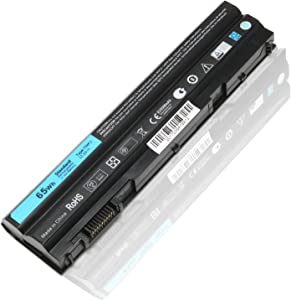 N3X1D T54FJ Laptop Battery for Dell Latitude E5420 E5520 E6430 E6420 E6520 E6530, Fit with P/N 04NW9 M5Y0X 8858X T54F3 X57F 312-1163 312-1164 312-1242 11.1 V 65Wh Precision M2800 Series 6Cell