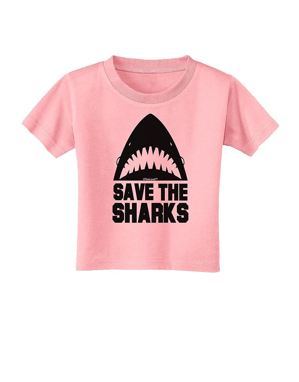 TooLoud Save The Sharks Toddler T-Shirt