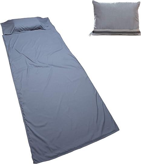 Nomalite Saco de Dormir (90 x 220cm) Suave Microfibra de algodón ...