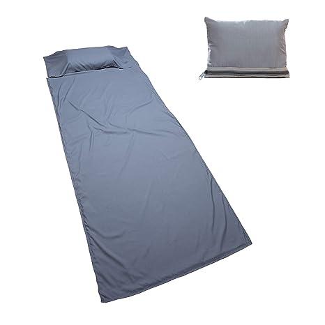 Saco de dormir (90 x 220cm) de Nomalite | En suave microfibra de algodón