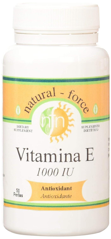 Nutri-Force Vitamina E 1000 UI, 671mg - 50 Perlas: Amazon.es ...
