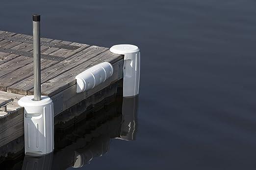 """Attwood Fender 12/""""x12/"""" Corner Dock White #93531-1"""