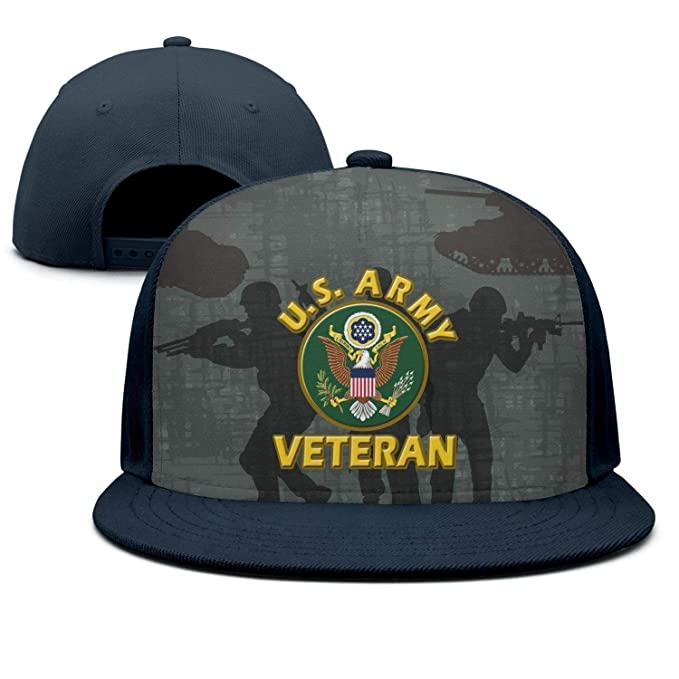 3106441c397d05 wasupyo US Military Army Veteran Snapback Hats for Men Cool Baseball Cap at  Amazon Men's Clothing store: