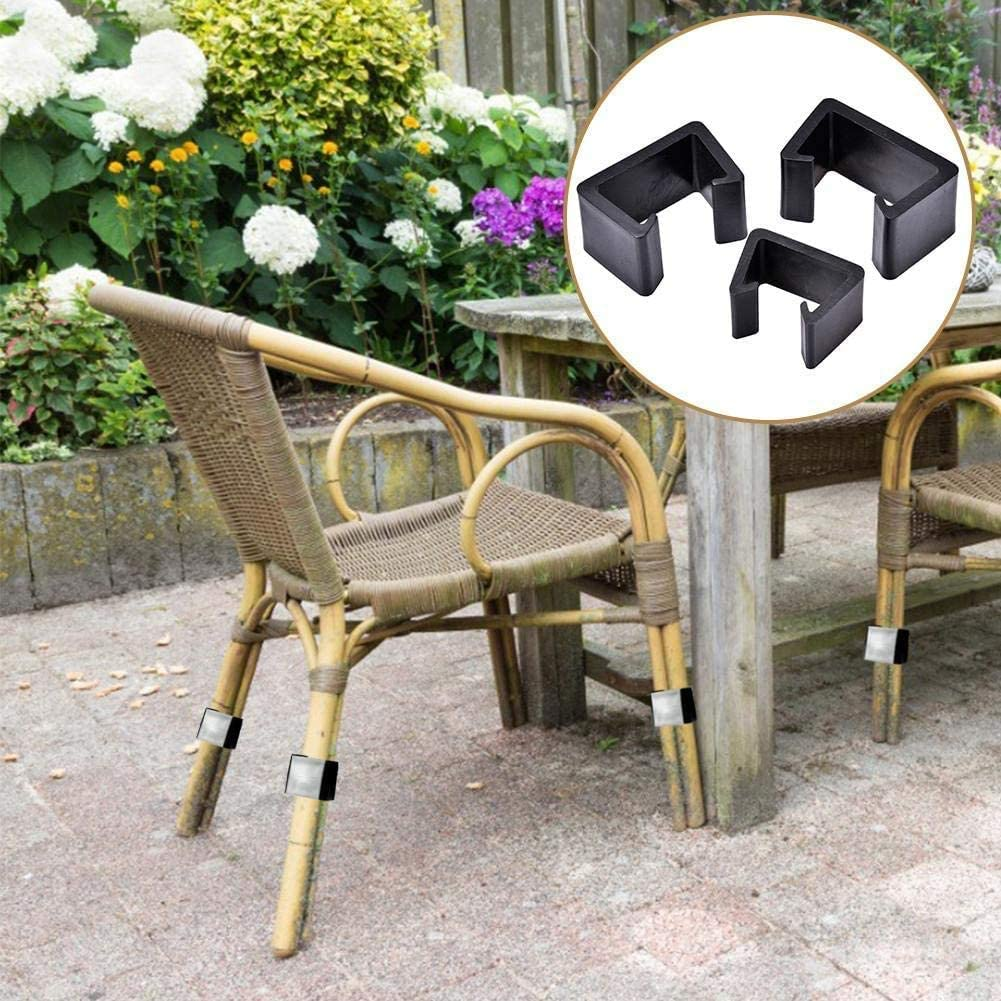 Connect The Sectional or Module Outdoor Couch Patio Furniture Black QYC 10 Pcs of Outdoor Patio Wicker Furniture Clips Alignment Sofa Rattan Chair Sofa Fasteners Clip Sectional Connector