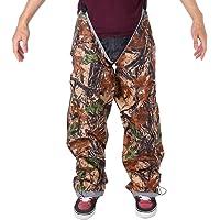 Pantalones de Lluvia Impermeables Portátiles con Correa Elástica