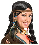 Folat Indian Head Decoration Braid and Beads
