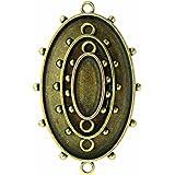 Spellbinders MB1-001 Media Mixage Ovals One, Bronze