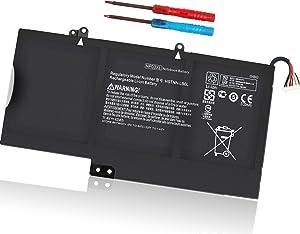 43WH NP03XL Battery Replacement for HP Envy X360 15-U010DX 15-U011DX Pavilion X360 13-A010DX Series 761230-005 760944-421 TPN-Q146 TPN-Q147 HSTNN-LB6L