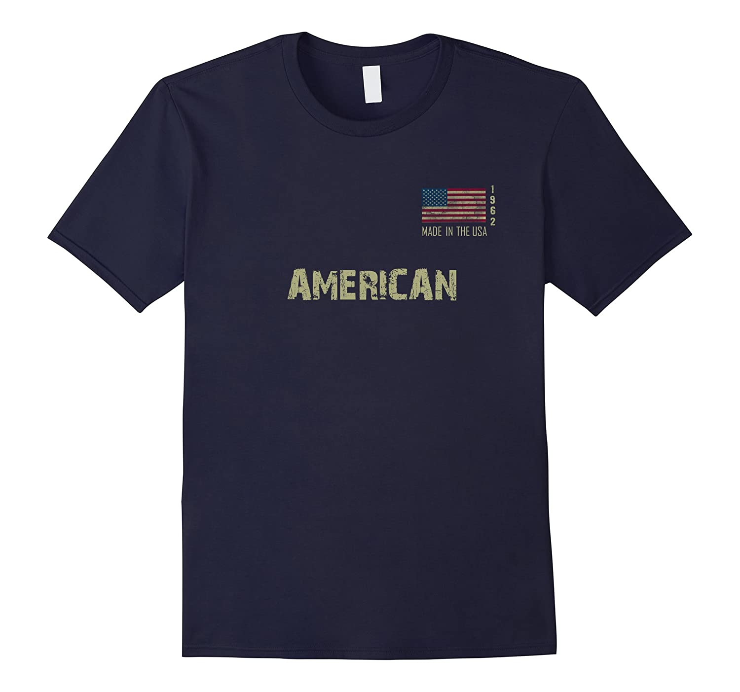1962 AMERICAN 55th Birthday MADE IN USA Gift T-shirt-TJ