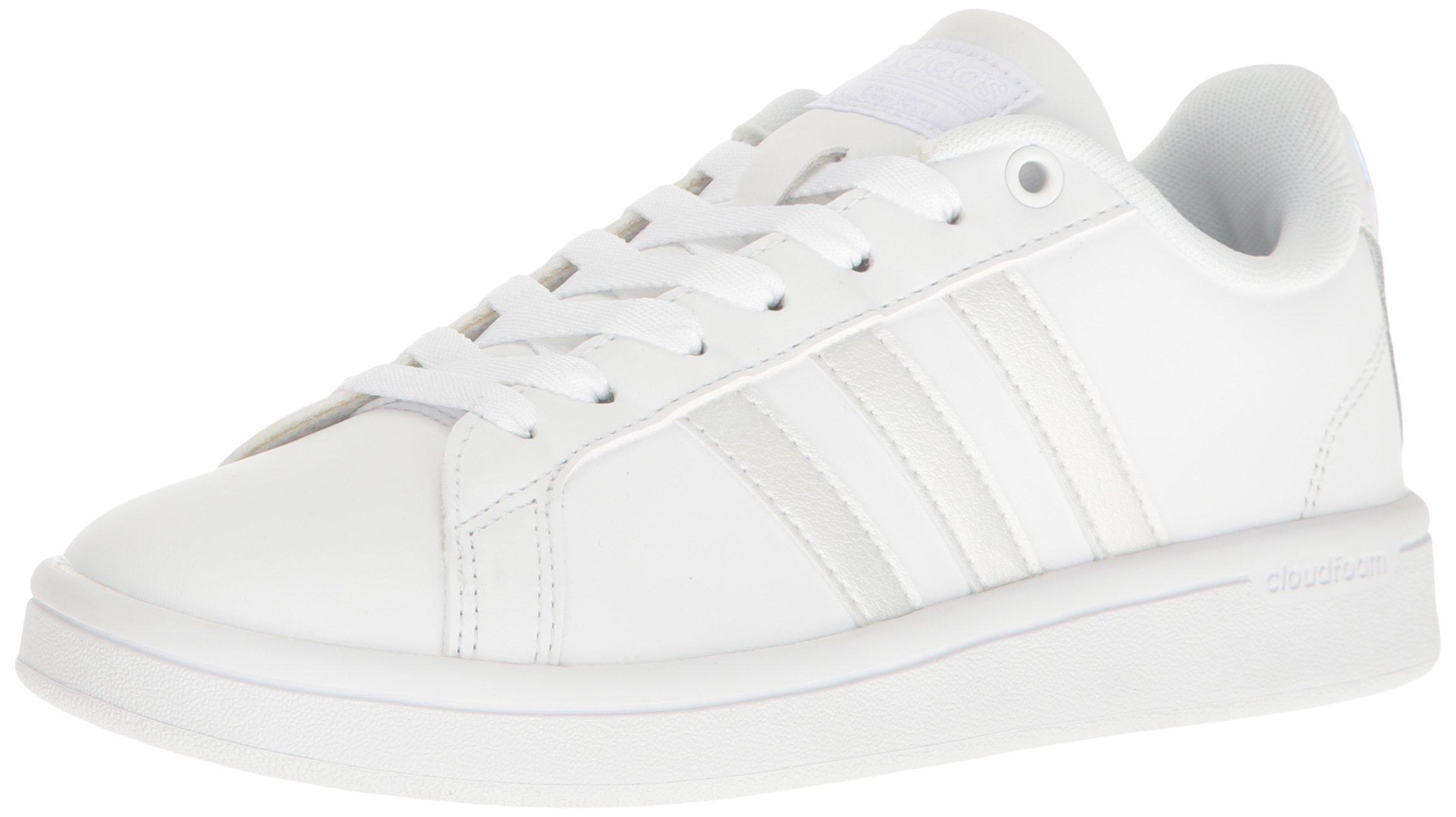 adidas Women's Cf Advantage Sneaker White/Black, ((6 M US)