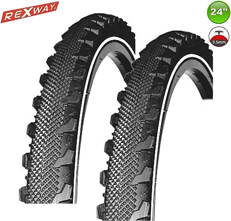 2X Rexway® Serpiente Neumático de la Bicicleta Abrigo Manta Reflex ...
