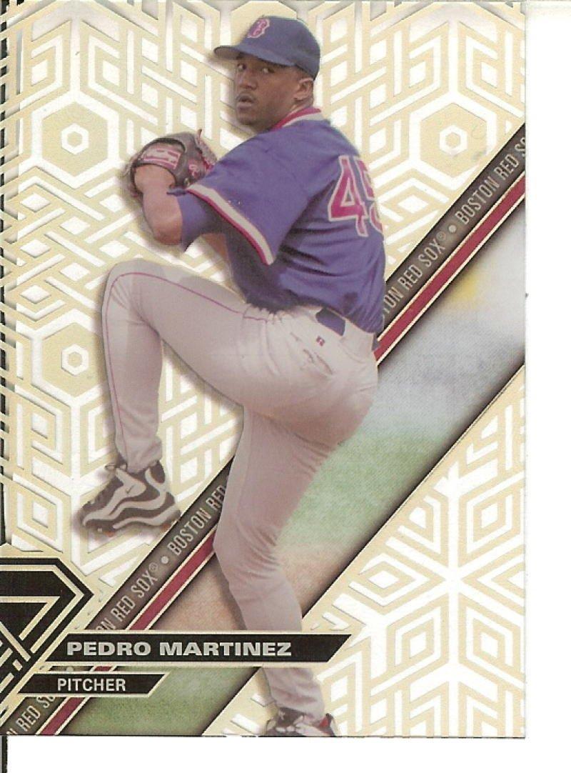2017 High Tek Pattern 2B Chainlink Hexagons #HT-PM Pedro Martinez Red Sox