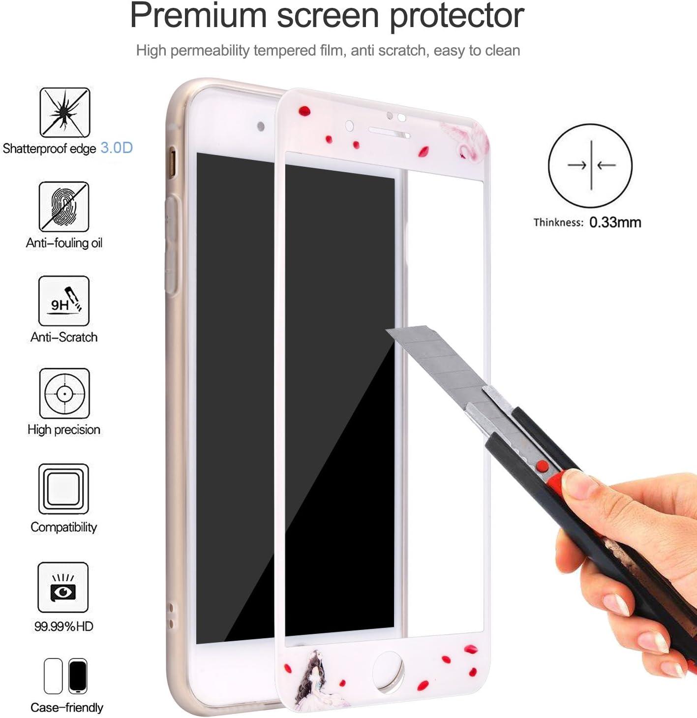1 St/ück FCLTech Displayschutzfolie f/ür iPhone 6 Plus//iPhone 6S Plus HD Klar 9H H/ärtegrad Geh/ärtetes Glas Panzerglasfolie Displayschutzfolie kompatibel mit Apple iPhone 6 Plus//iPhone 6S Plus