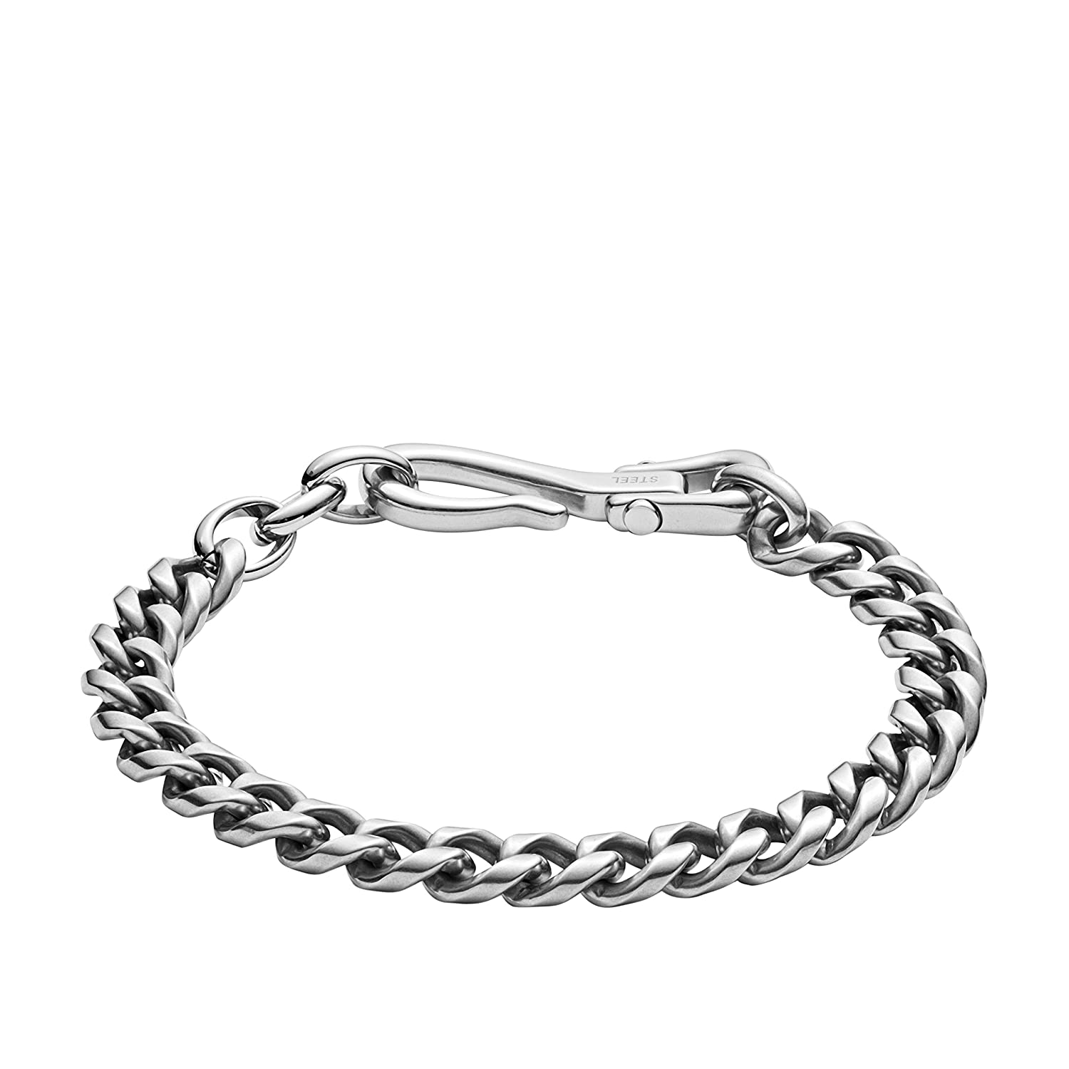 One Size JF02938040 Fossil Mens Stainless Steel Bracelet