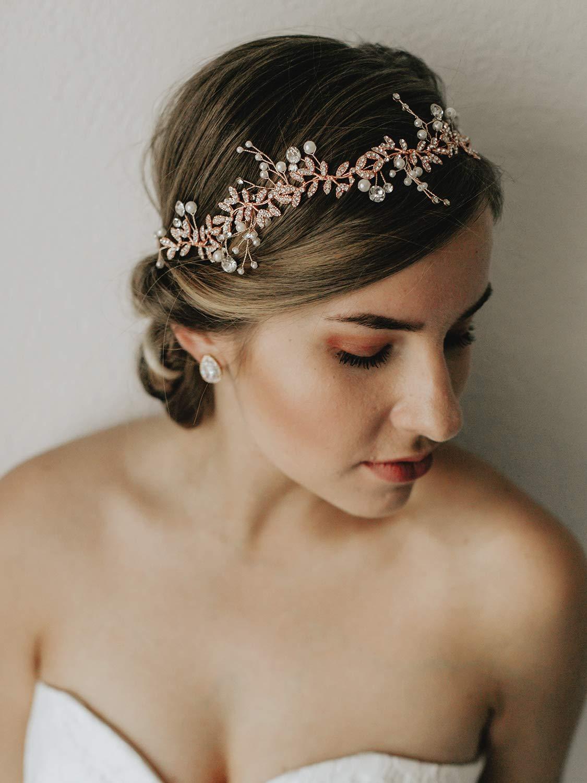 Haarband Roségold