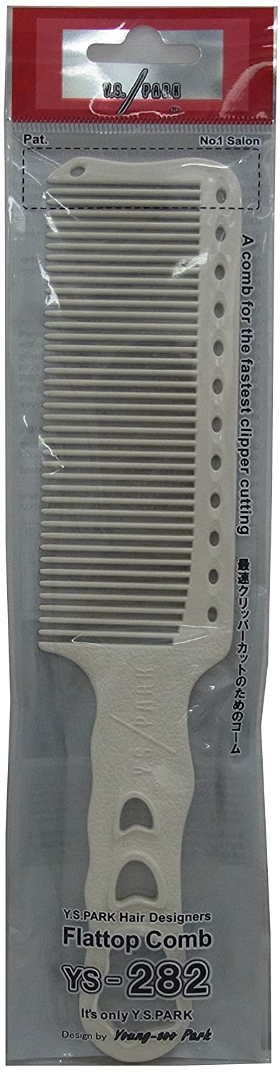 YS PARK CLIPPER COMB - WHITE