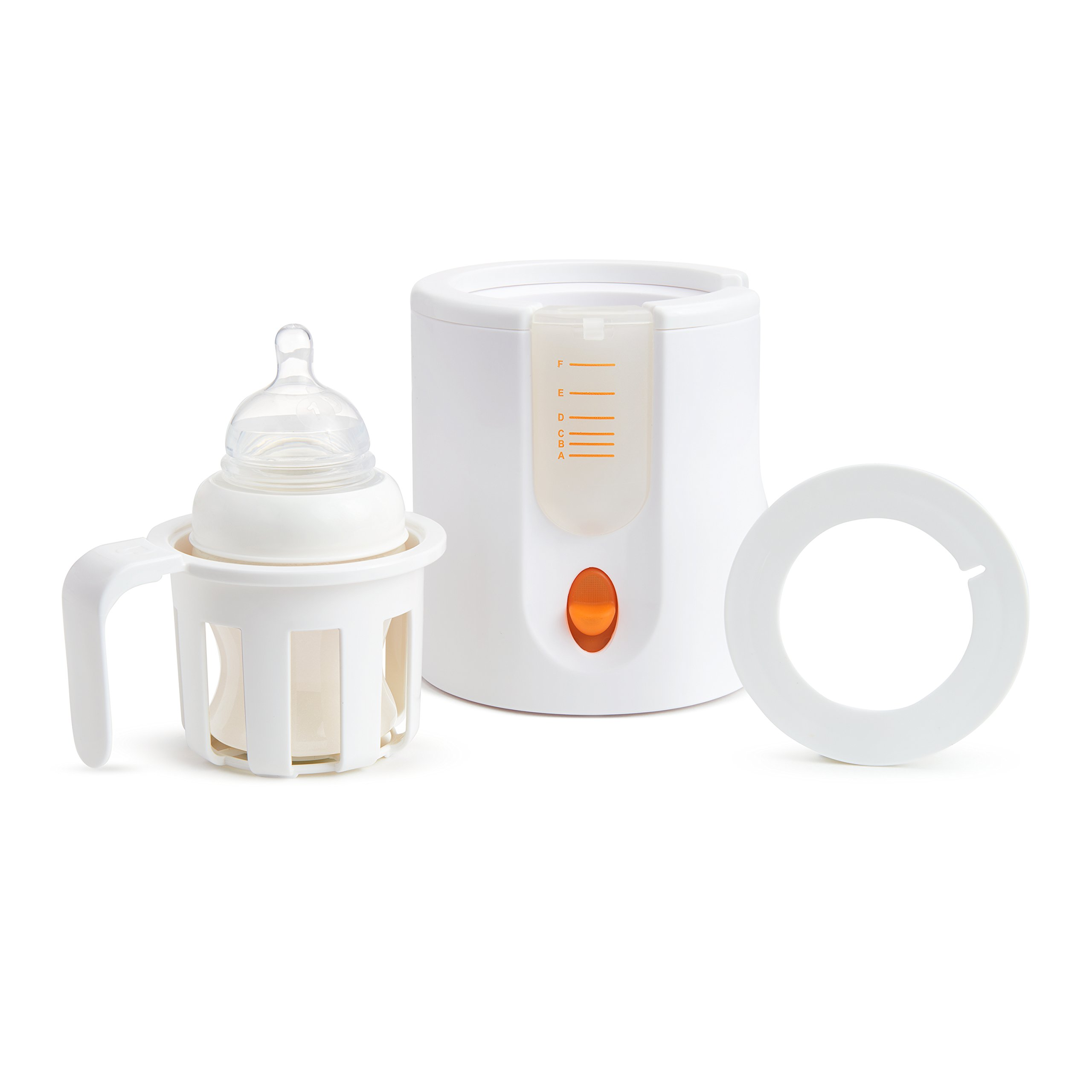 Munchkin High Speed Bottle Warmer, Orange/White, 1 Count by Munchkin