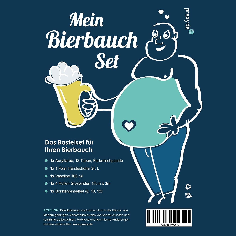 p+ praxy Bierbauch-Set Männer Geschenk Geschenke-Set ...