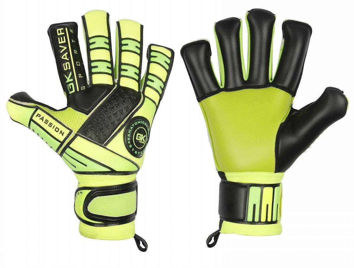 サッカーゴールキーパーグローブGKセーバーPassion ps05ハイブリッドプロフェッショナルレベルGoalie Gloves B07C1R3QB4 Size 11|YES Finger Save YES Personalization YES Finger Save YES Personalization Size 11
