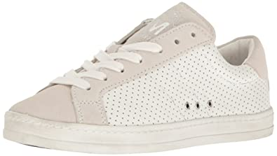 Steve Madden Women's Blast Fashion Sneaker, White/Multi, ...