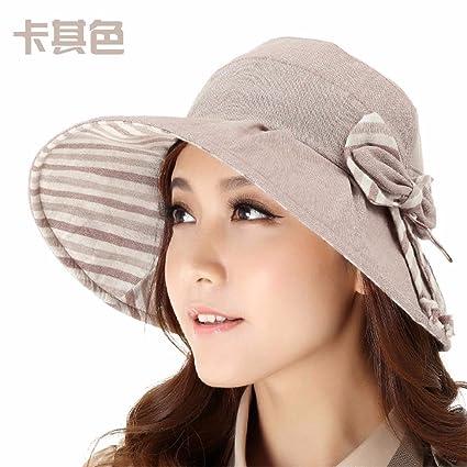 SAIBANGZI Moda Elegante Sombrero Sombrero Pescador Hembra Hembra De Aventura  Al Aire Libre En Verano Quitasol 5e3e663a57e