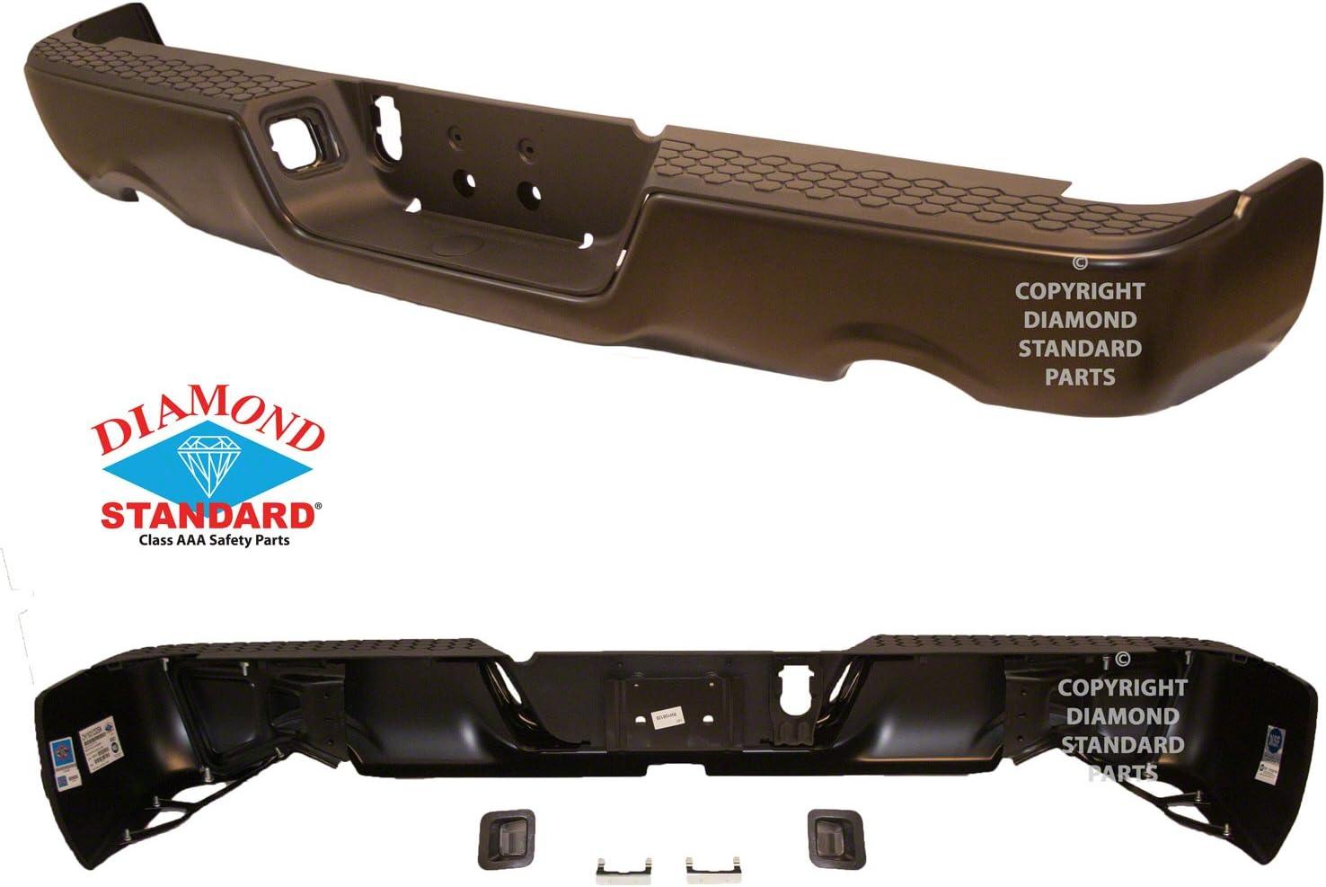 CPP capa ch1103123 parachoques trasero Asamblea para Dodge ...