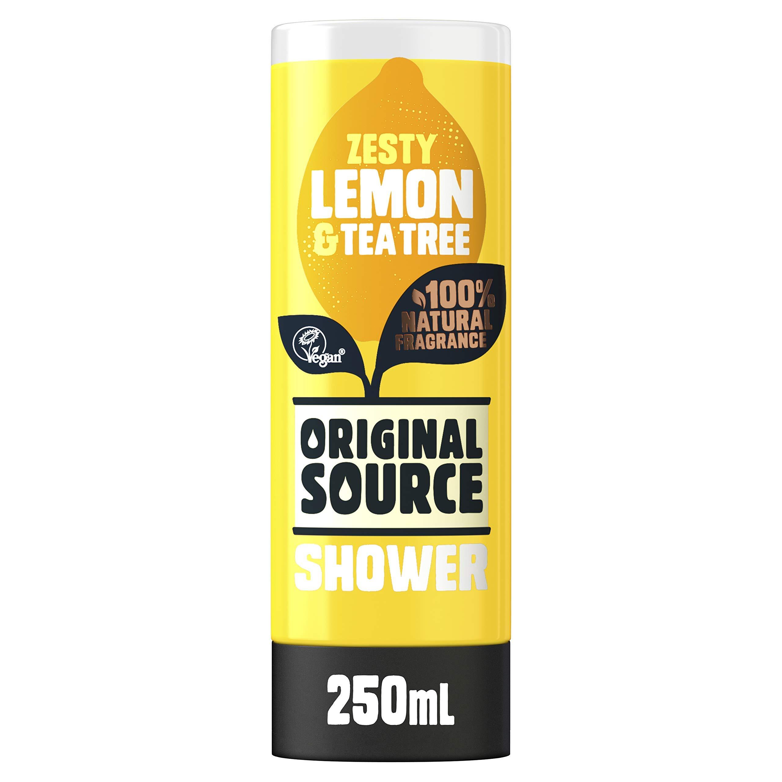 Original Source Lemon and Tea Tree Shower Gel, 250ml