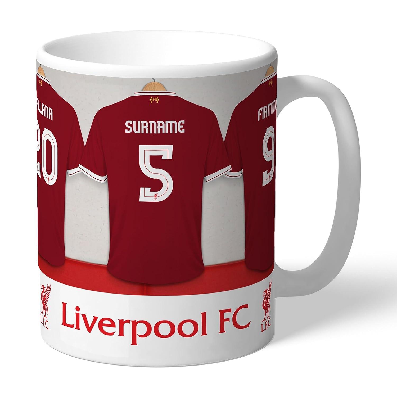 Personalised Liverpool Dressing Room Mug  Amazon.co.uk  Kitchen   Home 083ca208d