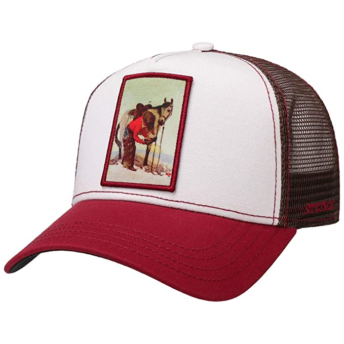 Stetson Gorra Trucker Horseshoeing Hombre - de Baseball Malla ...