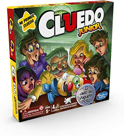 Hasbro Gaming- Cluedo Junior (C1293546): Amazon.es: Juguetes y juegos