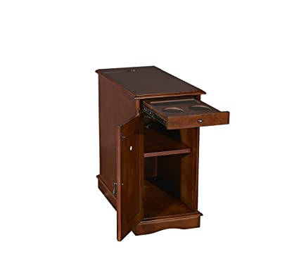 Powell Furniture 15A2017HA Butler Accent Table, Small