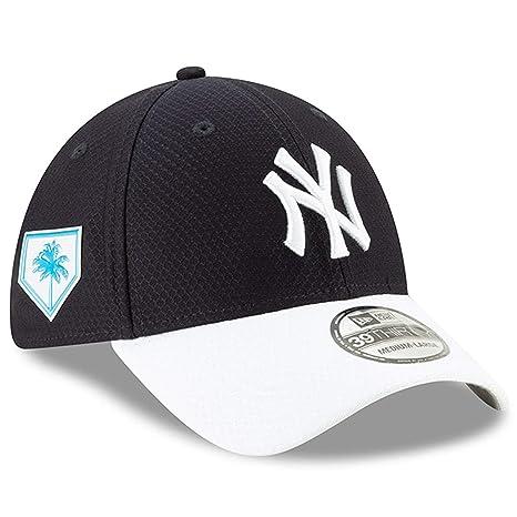 02acc25309b62 New Era Men's New York Yankees Navy 2019 Spring Training 39THIRTY Fitted Hat