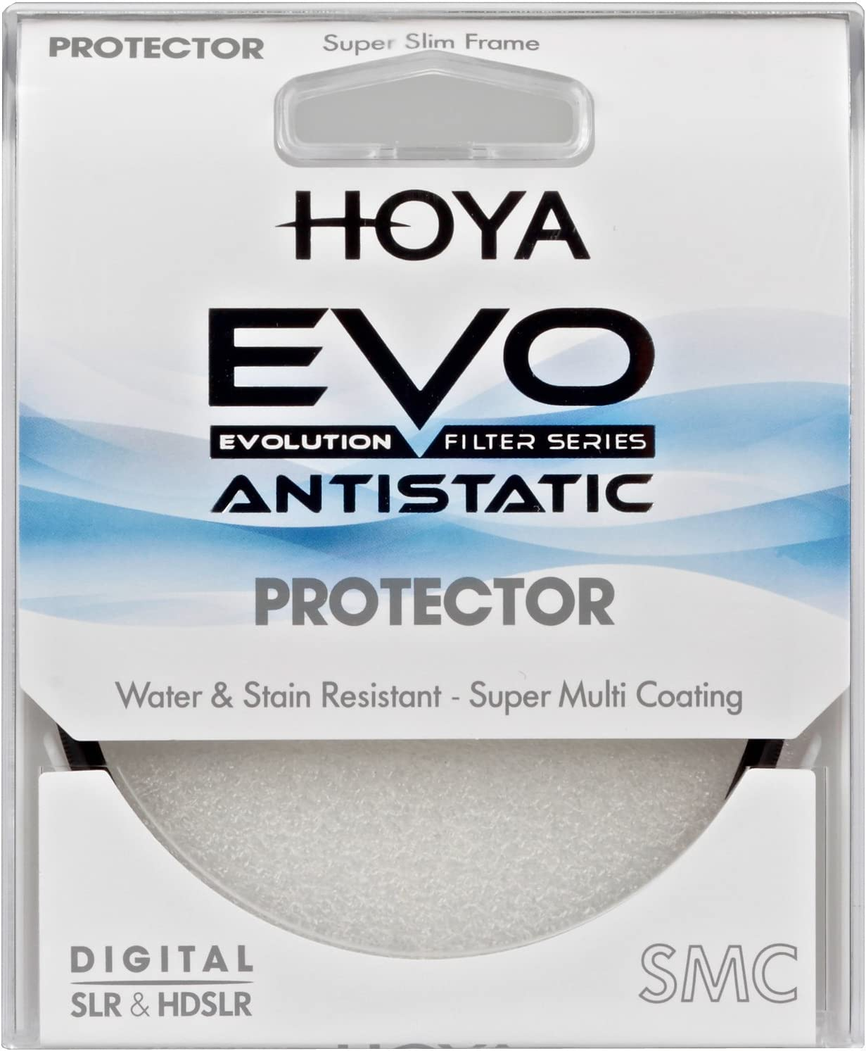 Hoya EVO ANTISTATIC 55mm Protector Super Multi-Coated Slim Frame Water /& Stain Resistant Filter XEVA-55PROTEC