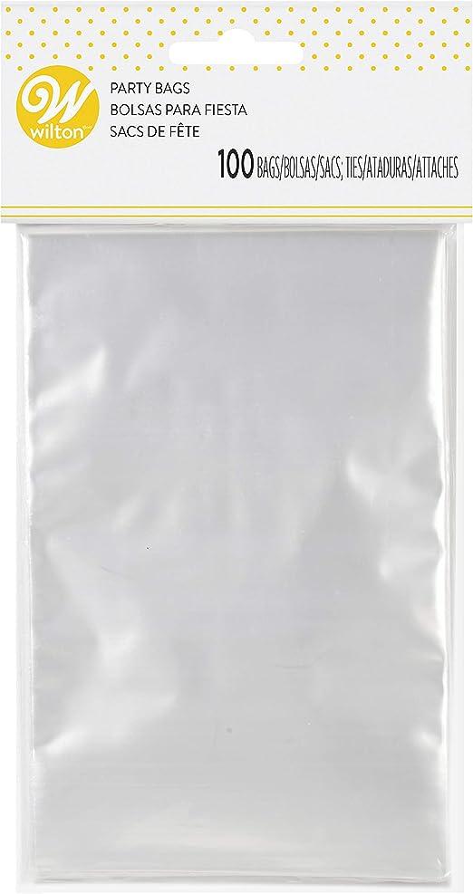 Multicolore 3 x 4-inch Wilton Sac /à friandises