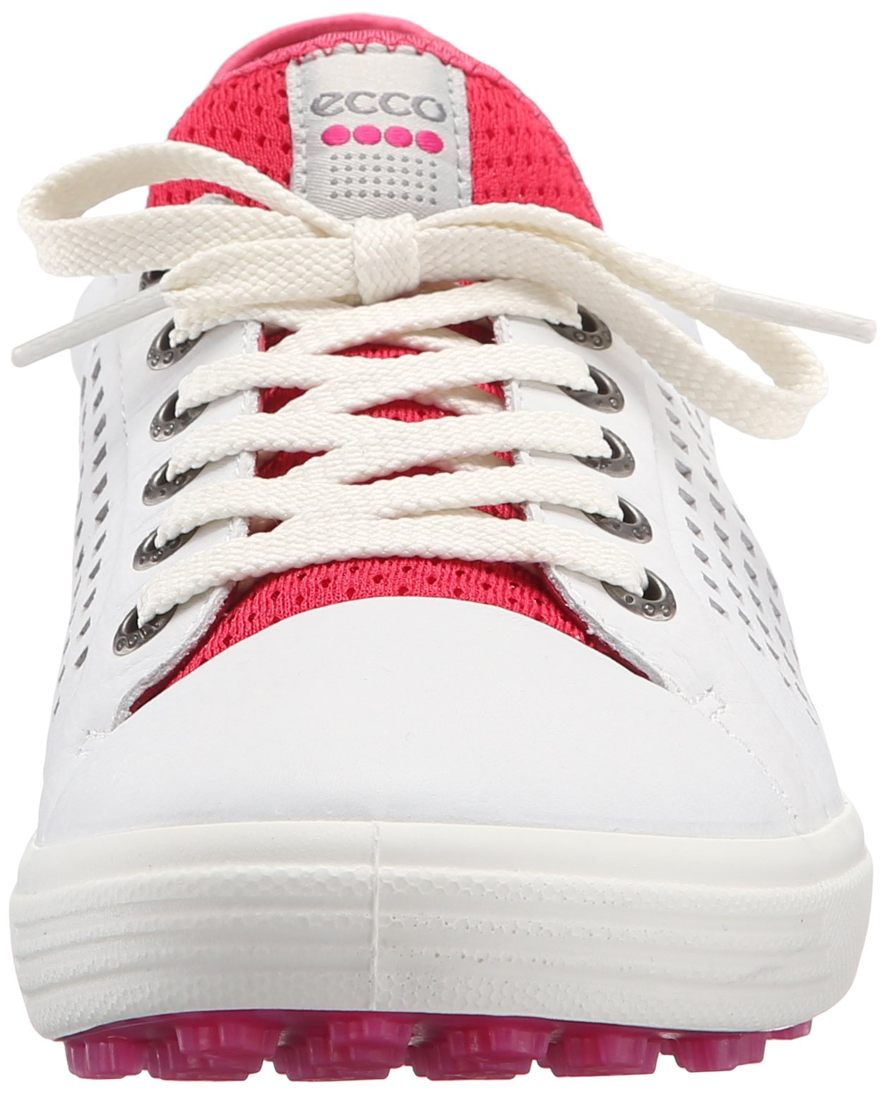 ECCO Women's Summer Hybrid Golf Shoe, White/Raspberry, 41 EU/10-10.5 M US by ECCO (Image #4)