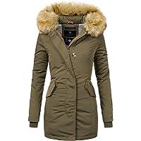 Marikoo Karmaa Cappotto Invernale da Donna XS-5XL 15 Colori XS-XXL