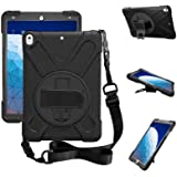 ZenRich iPad Air 3 Case 2019, iPad Pro 10.5 Case 2017, Kickstand Hand Strap & Shoulder Belt zenrich Shockproof Heavy Duty Rug