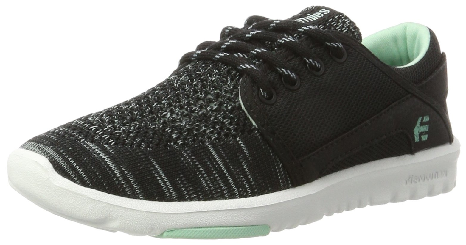 Etnies Women's Scout Yb W's Skateboarding Shoe, Black/Blue, 8.5 M US
