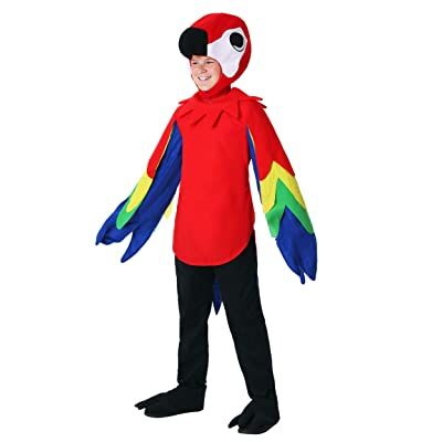 Child Parrot Costume: Clothing