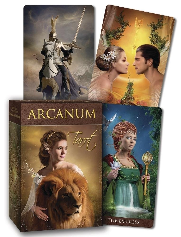 Cartas: Arcanum Tarot (Renata Lechner)