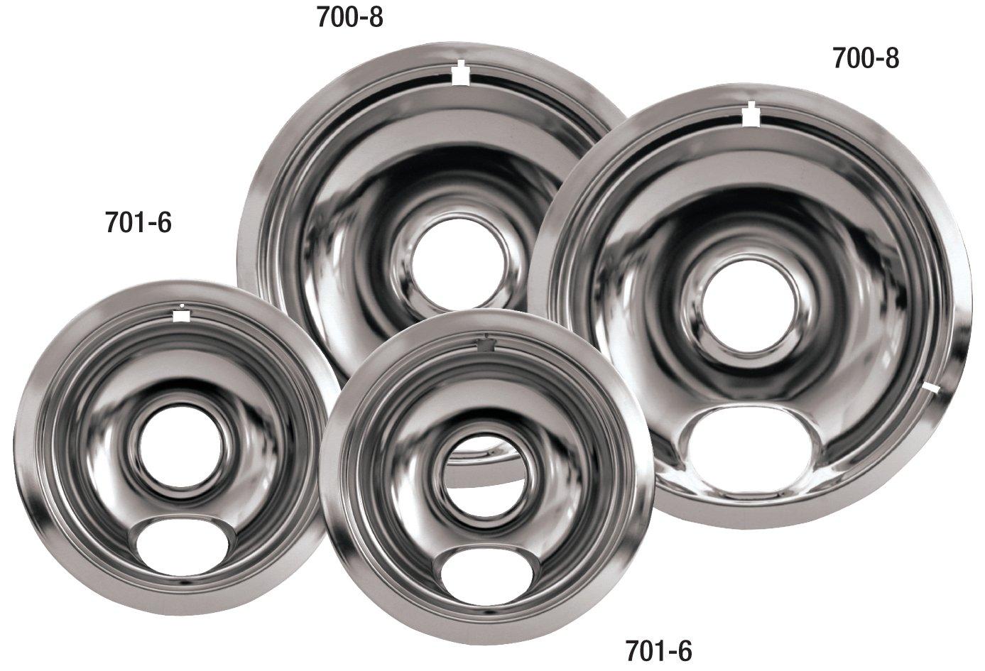 Amazon.com: Whirlpool W10278125 Drip Pan Kit, Chrome: Home Improvement