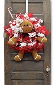 tmigifts 5 pc Gingerbread Wreath Decor Kit