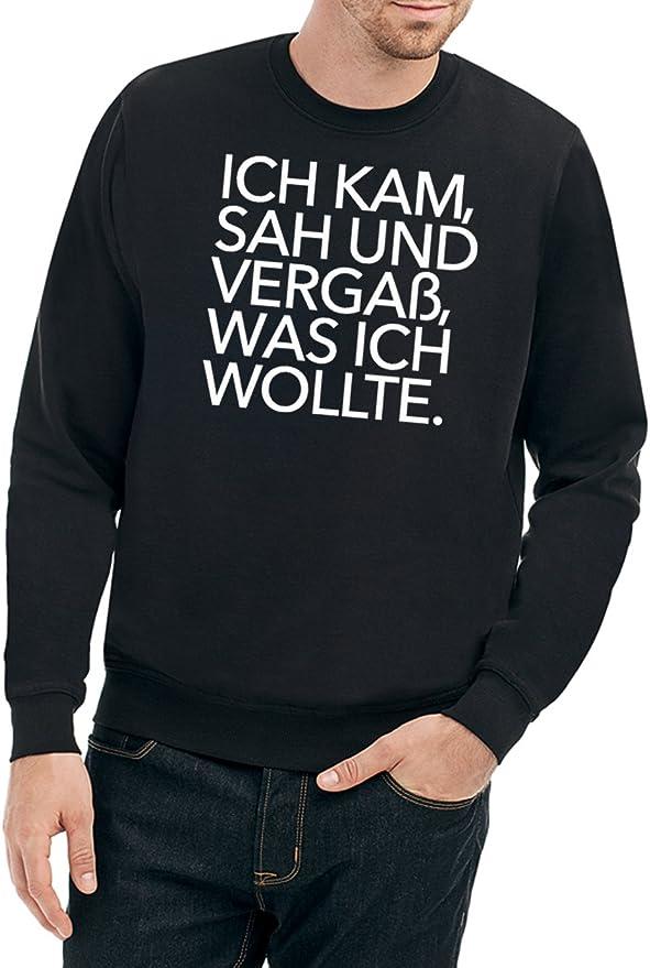 Pullover Ich kam sah und vergaß Sweatshirt
