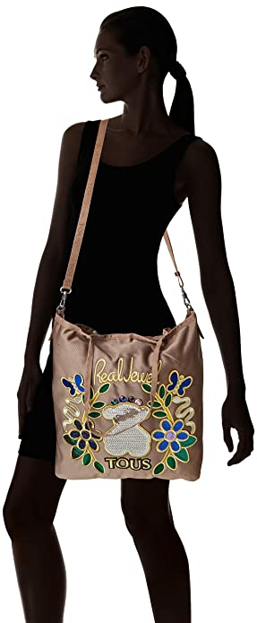 piedra Mujer Jodie 1x42x37 Tous Para Shopping Shopper Beige Cm TqgWTwaY1