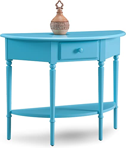 Leick Coastal Demilune Hall Stand Sofa Table