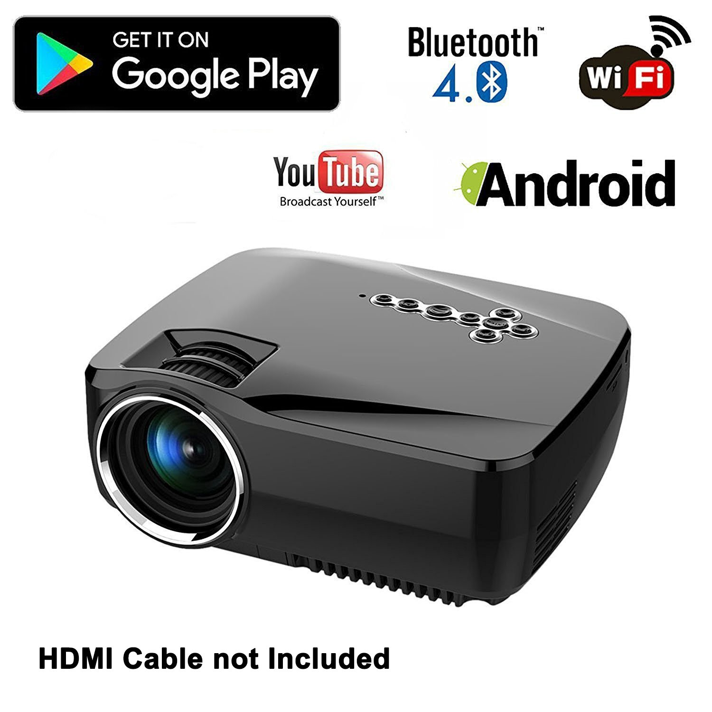 Honyi Bluetooth Mini WiFi Projector Amazon